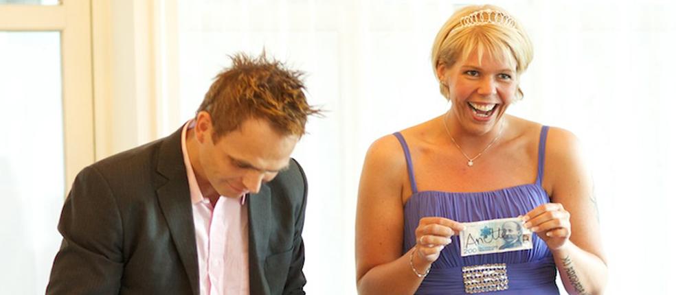 Bryllup med tryllekunstner Rune Carlsen